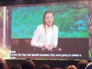 Sarah Harrison gewährte auf der re:publica Einblicke in die Arbeit von Wikileaks