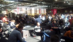 Volles Haus: Mehr als 6000 Teilnehmer haben sich in Berlin zur re:publica 14 versammelt.