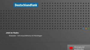 Screenshot des HbbTV-Angebotes vom Deutschlandfunk