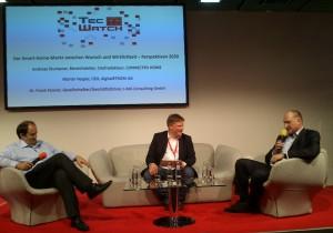 Diskussion auf der IFA zu den Perspektiven des Smart Home
