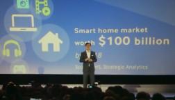 Das Geschäft mit dem vernetzten Haus - IFA-Präsentation der Firma Samsung mit CEO Boo-Keun Yoon