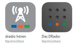 Dradio Apps Screenshot