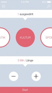 DRadio Mediathek App Auswahl