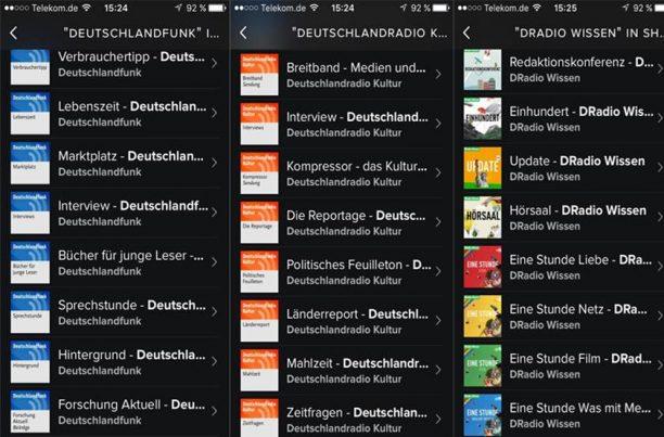 Spotify Montage Podcast Dradio