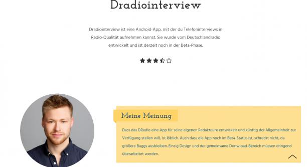 Screenshot von bleiwüsten.de